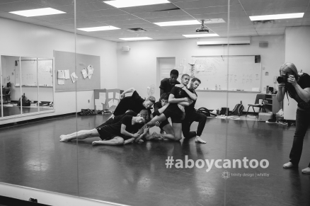 Capturing the experience for the #aboycantoo project.
